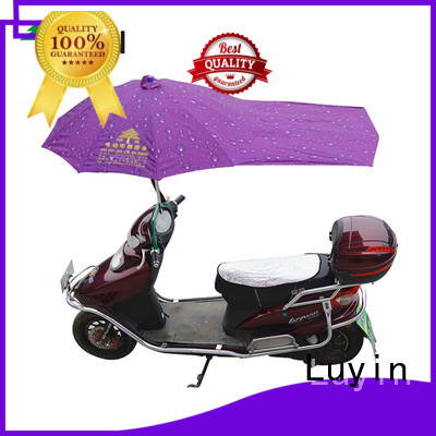 Luyin scooter umbrella holder company for sunshade