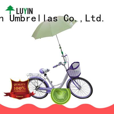 Luyin umbrella holder factory for bicycle umbrellas