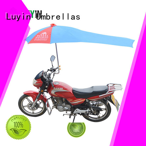 Luyin Wholesale motorcycle umbrella in india company for rain protection