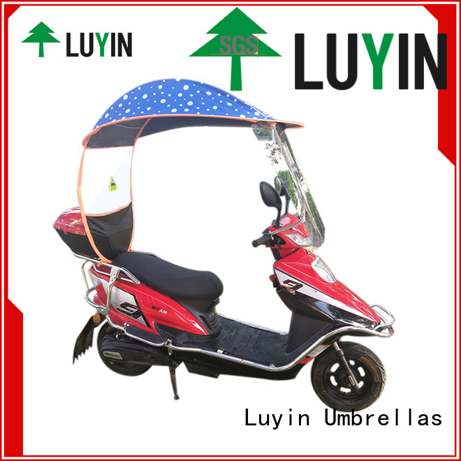 Luyin bicycle umbrella products Suppliers for rain protection