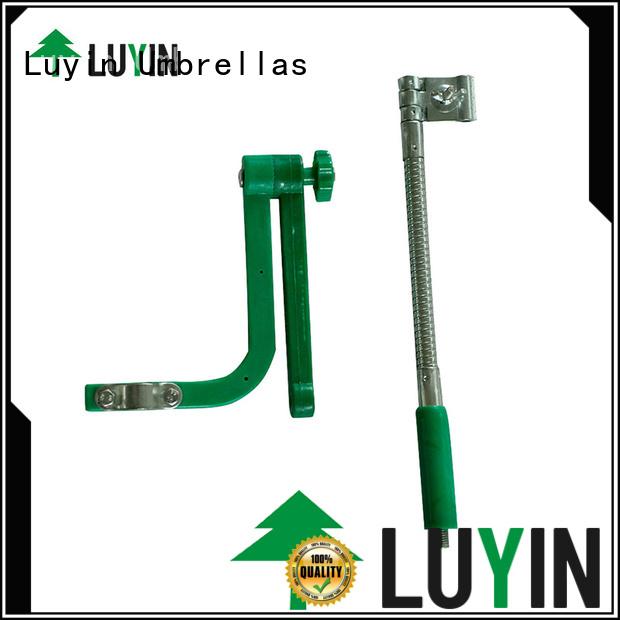 Luyin Custom bicycle umbrella mount factory for wheel chair
