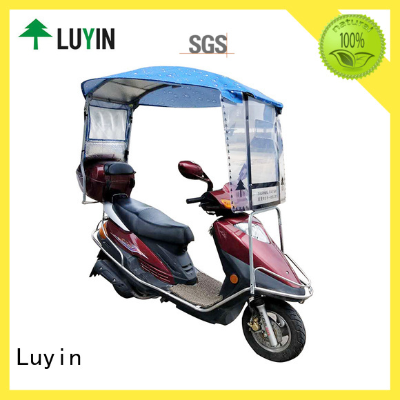 Latest scooter roof attachment Supply for sunshade