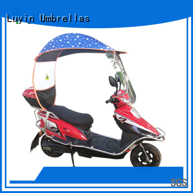 Luyin High-quality two wheeler umbrella manufacturers for sunshade