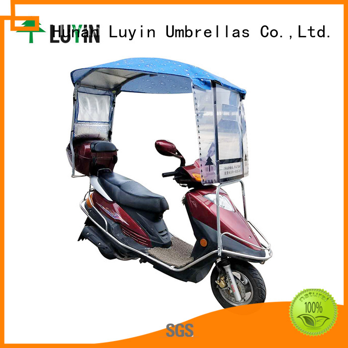 Luyin New scooter sunshade Supply for rain protection