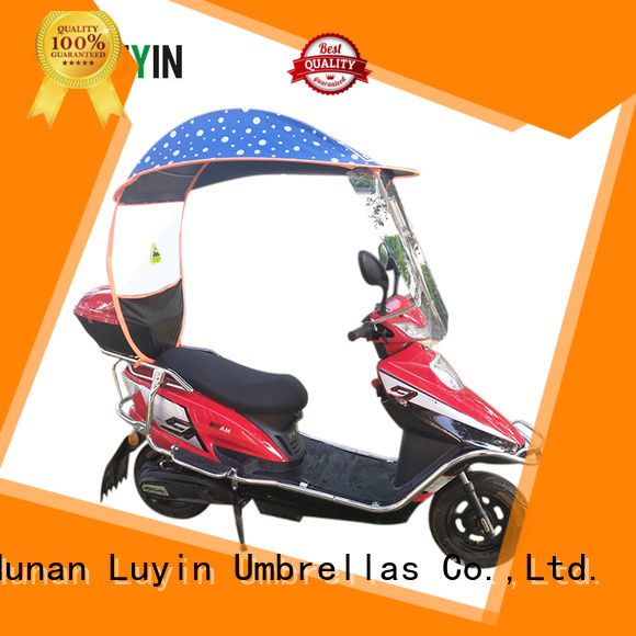 Luyin scooter sun shade for business for rain protection