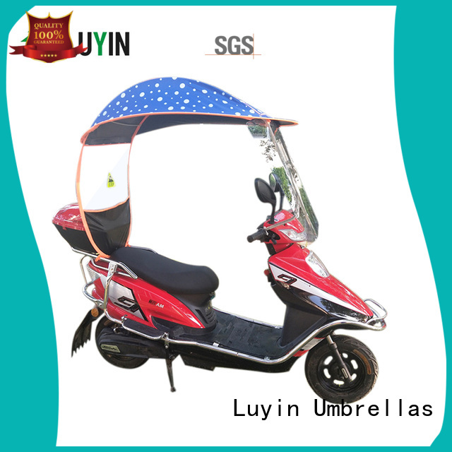 Luyin Latest scooter sun shade manufacturers for electric scooter