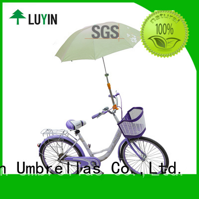 Luyin umbrella mount for bike Supply for baby carriage