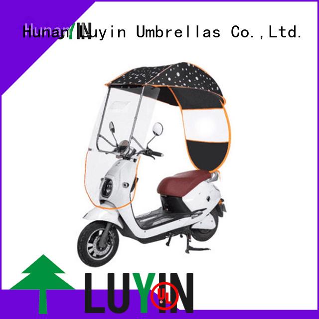 Luyin Latest bike canopy company for windproof