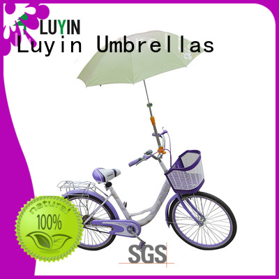 Luyin Best umbrella mount for stroller for business for motorcycles umbrellas