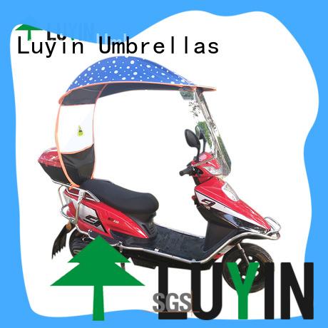 Luyin Custom umbrella mount for bike manufacturers for windproof