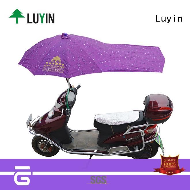 Luyin Latest bike umbrella flipkart manufacturers for rain protection