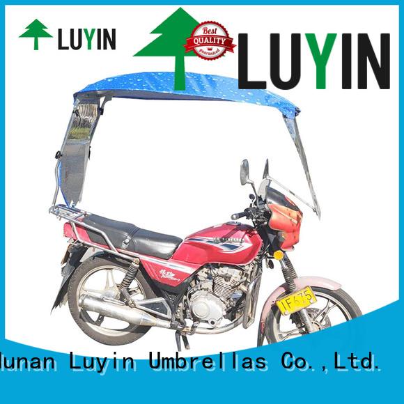 Luyin motorbike umbrella factory for windproof