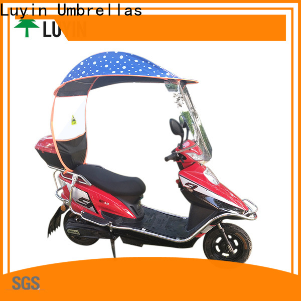 Custom electric scooter umbrella for business for windproof