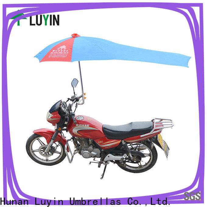 Luyin Custom motorcycle umbrella in india manufacturers for motorcycles