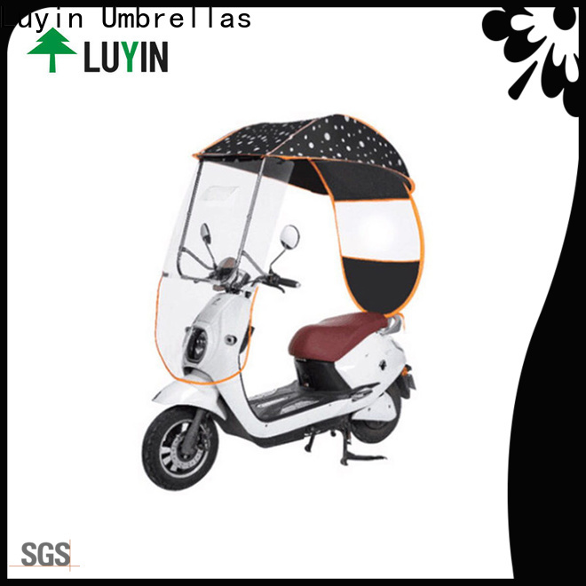 High-quality umbrella on scooter company for windproof