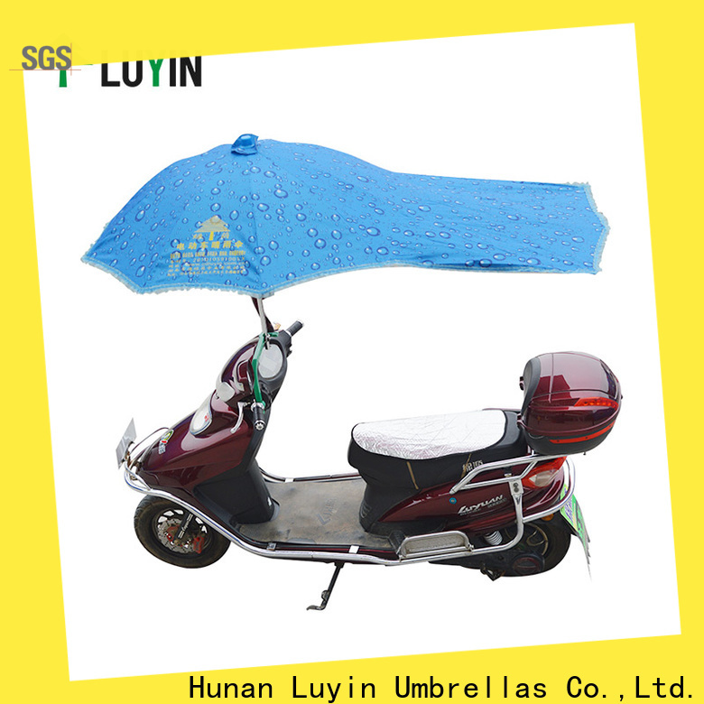 Luyin umbrella mount for bike manufacturers for sunshade