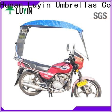 Luyin moto umbrella factory for sunshade