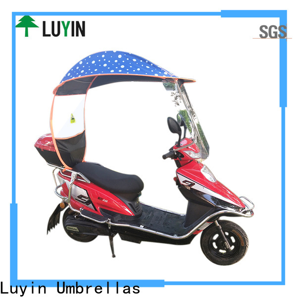 Luyin Custom umbrella on scooter for business for E-Bike