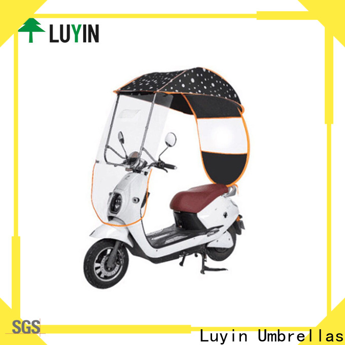 Luyin Wholesale umbrella on scooter Suppliers for sunshade