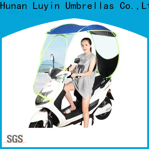 Luyin New umbrella on scooter for business for E-Bike