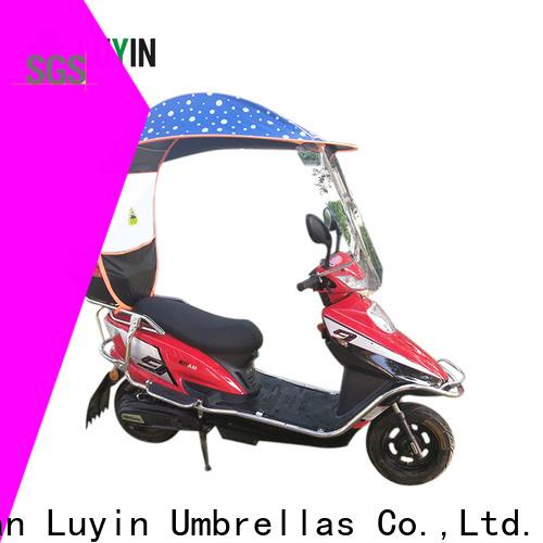 Luyin bike umbrella canopy company for windproof