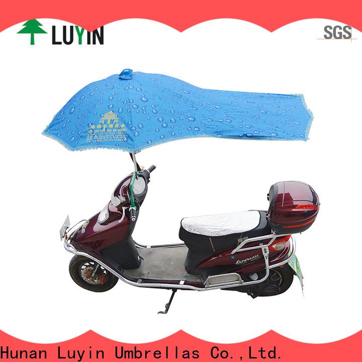 Luyin two wheeler umbrella for business for sunshade