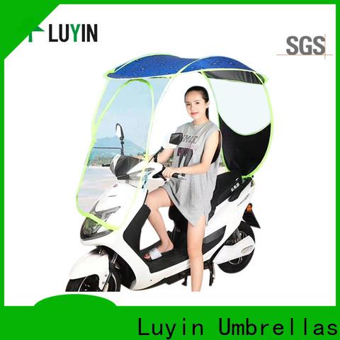 Luyin bike canopy factory for rain protection