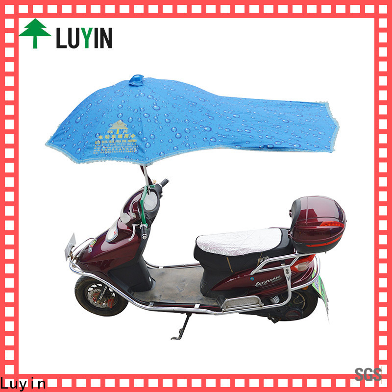 Luyin umbrella on scooter factory for sunshade