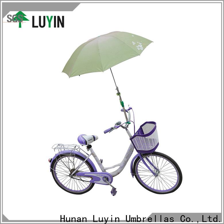 Luyin New bicycle umbrella mount Supply for motorcycles umbrellas