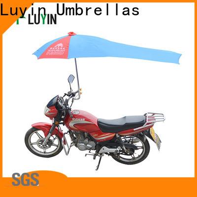 Luyin Custom commercial umbrella company for motorcycles