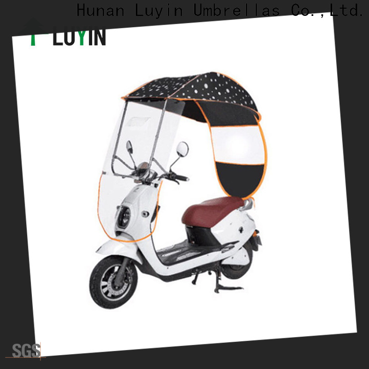 Luyin Custom bike umbrella canopy manufacturers for sunshade