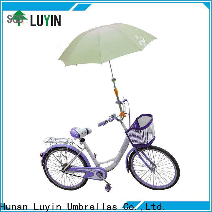 Luyin Custom bicycle umbrella holder company for wheel chair