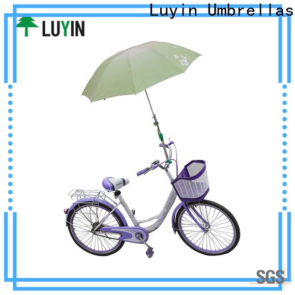 Custom rain umbrella holder for business for wheel chair