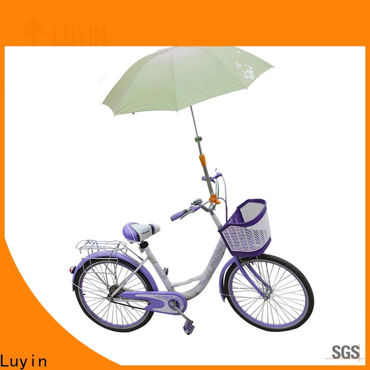 Luyin bicycle umbrella holder company for motorcycles umbrellas