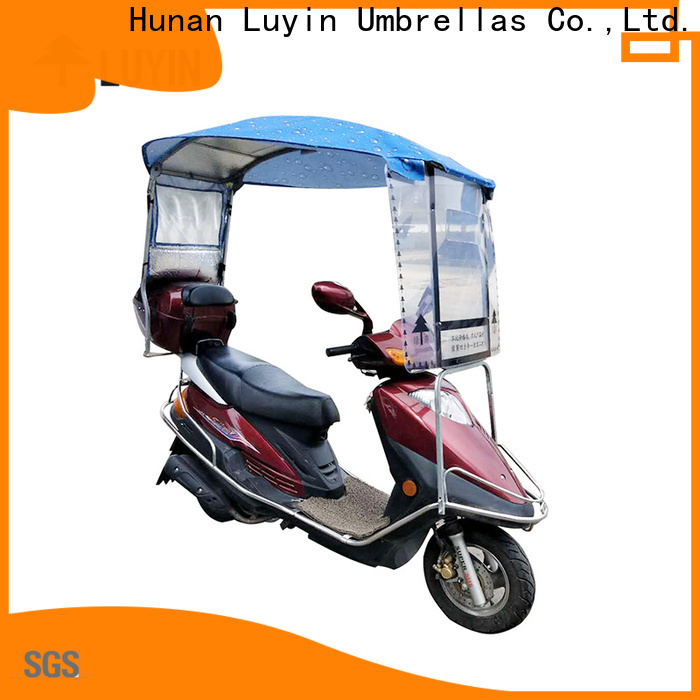 Luyin scooter umbrella holder company for windproof
