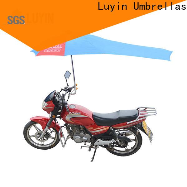 Luyin motorbike umbrella india company for windproof