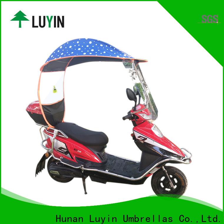 Luyin bike rain umbrella company for sunshade