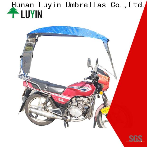 Top motorcycle umbrella china Supply for sunshade