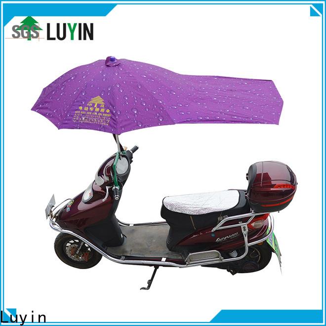 Luyin Custom scooter umbrella india company for rain protection