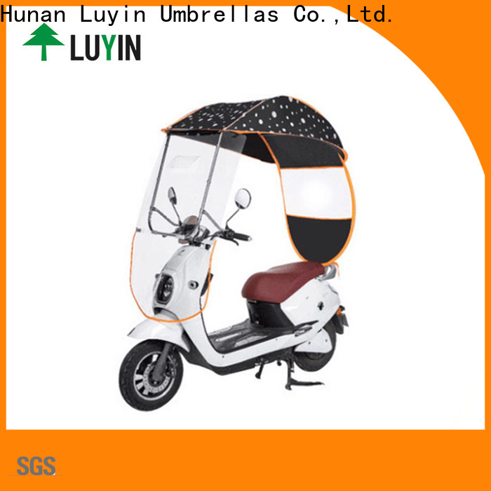 Luyin High-quality umbrella for ebike for business for sunshade