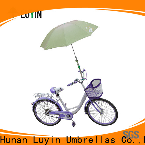 Luyin umbrella mount for stroller manufacturers for bicycle umbrellas
