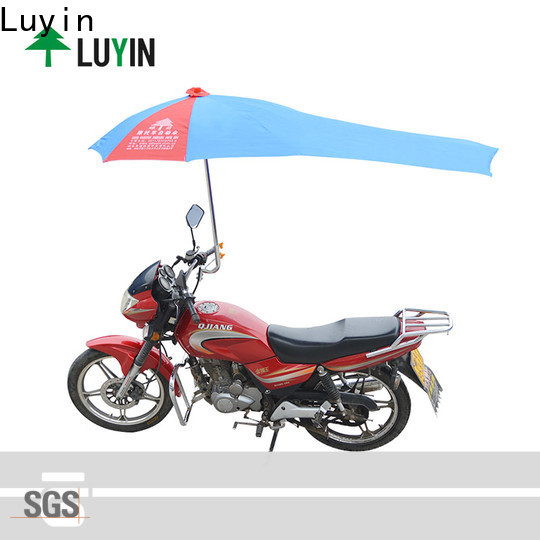 Luyin Latest motorcycle umbrella manufacturer Suppliers for windproof