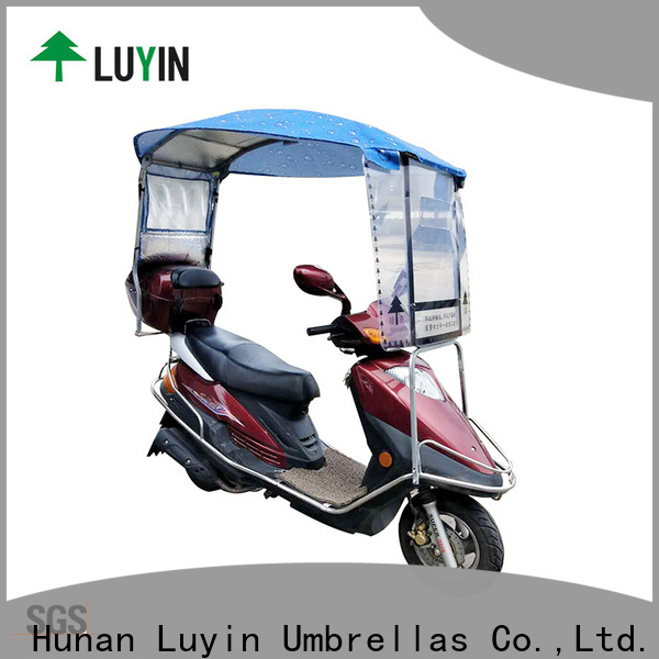 Luyin New electric scooter umbrella for business for sunshade