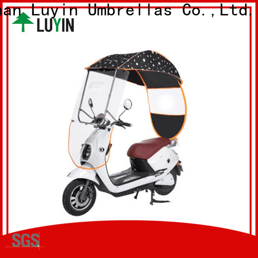 Custom bike umbrella in india Suppliers for windproof