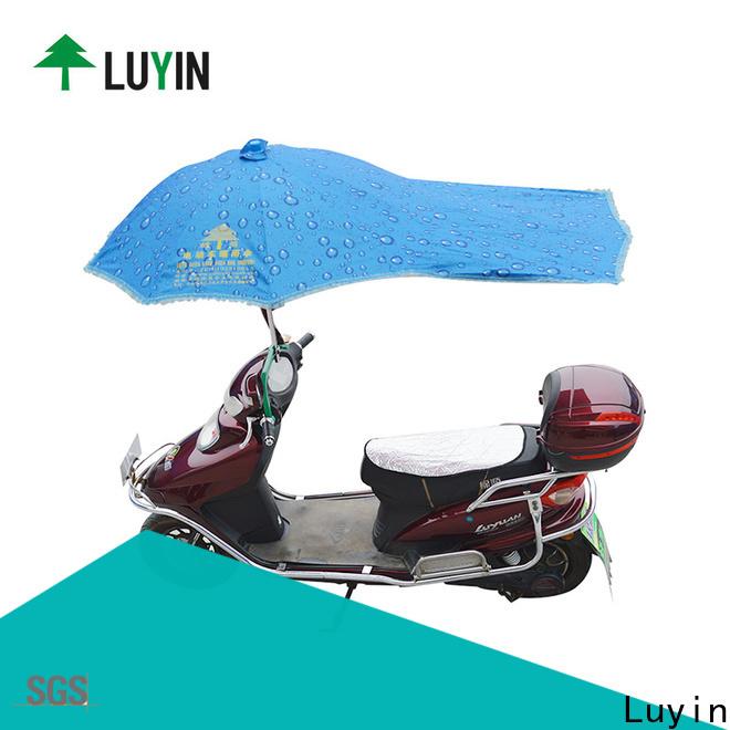 Luyin motorbike umbrella china factory for sunshade