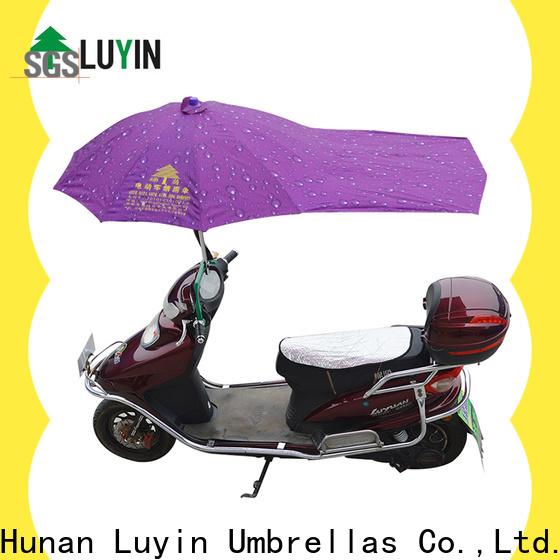 Luyin bike rain umbrella for business for sunshade