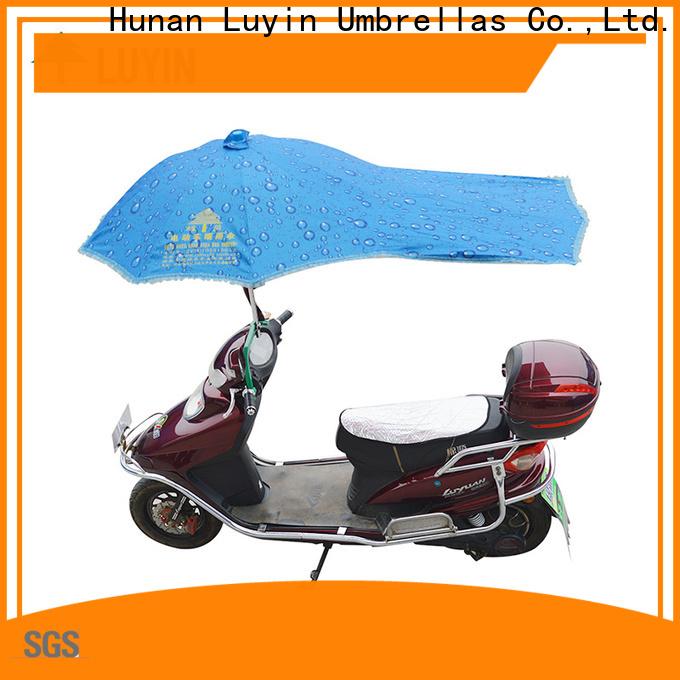 Luyin motorbike umbrella china company for windproof