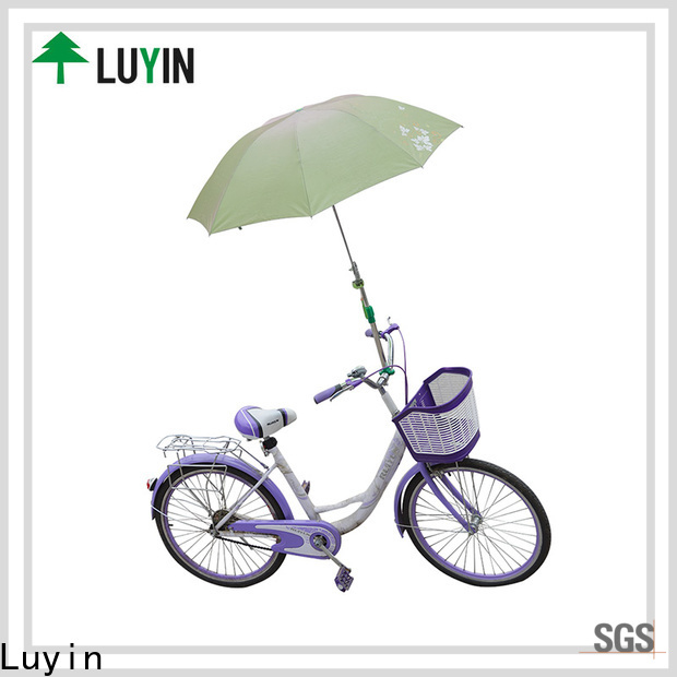 Luyin New bike umbrella mount for business for wheel chair