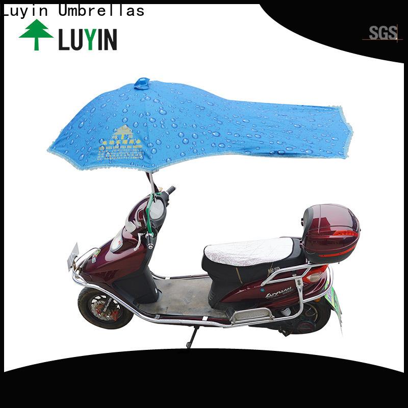 Wholesale bike rain umbrella manufacturers for sunshade