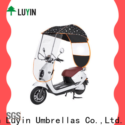 Luyin New bike umbrella canopy factory for electric scooter